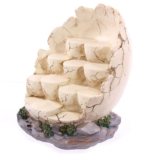 Tiered Egg Shaped Display Stand Novelty Gift