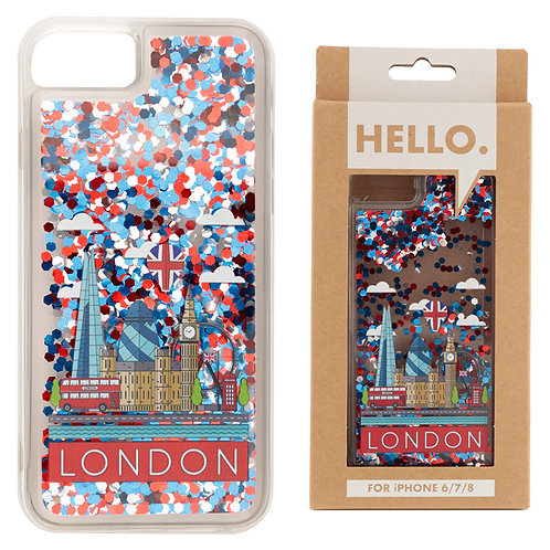 iPhone 6/7/8 Phone Case - London Icons Design Novelty Gift