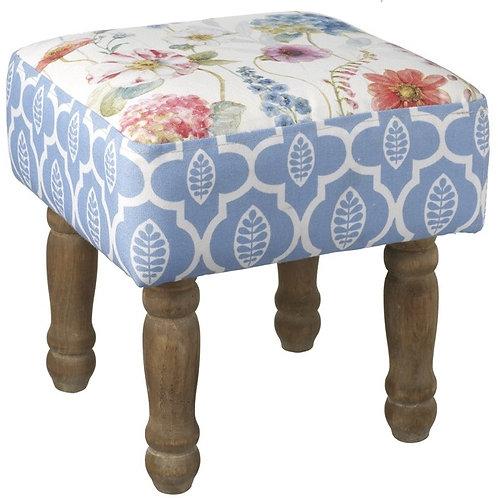 Floral Design Footstool 35cm Shipping furniture UK
