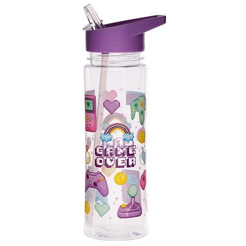 Reusable Retro Gaming Next Gen 550ml Water Bottle Novelty Gift