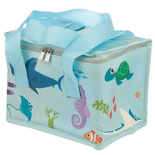 Sealife Design Lunch Box Cool Bag Novelty Gift