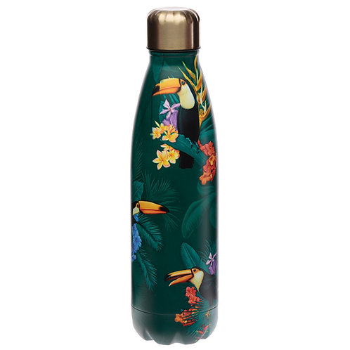 Toucan Party Stainless Steel Insulated Drinks Bottle Novelty Gift