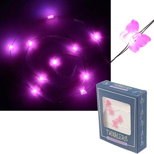 Novelty Gift Decorative LED Light - Butterfly String (120cm)