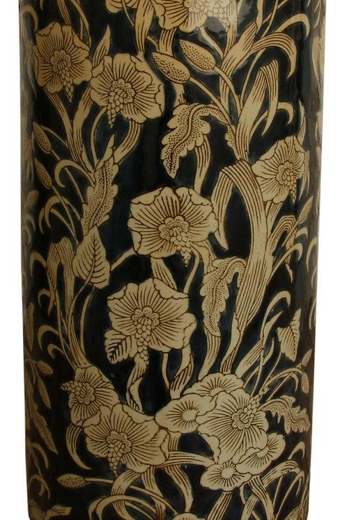 Ceramic Embossed Umbrella Stand, Regal Design Shipping furniture UK