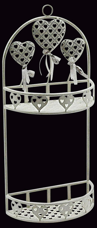 Heart Design Wall Rack Shipping furniture UK