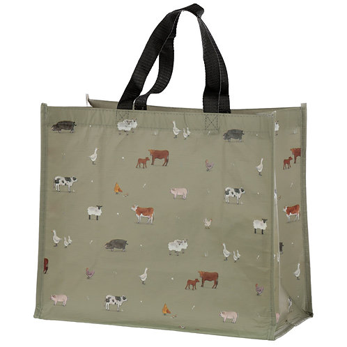 Willow Farm Recycled Plastic Reusable Shopping Bag Novelty Gift