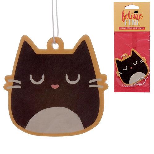 Feline Fine Orange Blossom Scented Cat Air Freshener Novelty Gift
