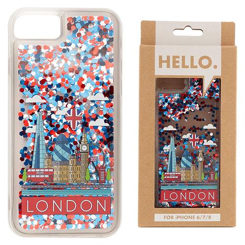 iPhone 6/7/8 Phone Case - London Icons Design Novelty Gift