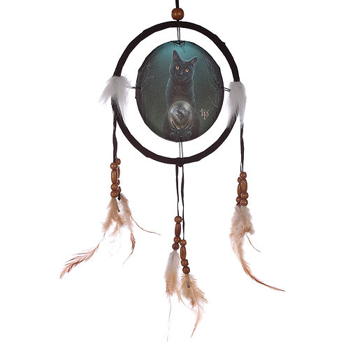 Novelty Gift Decorative Cat Design Rise of the Witches 16cm Dreamcatcher