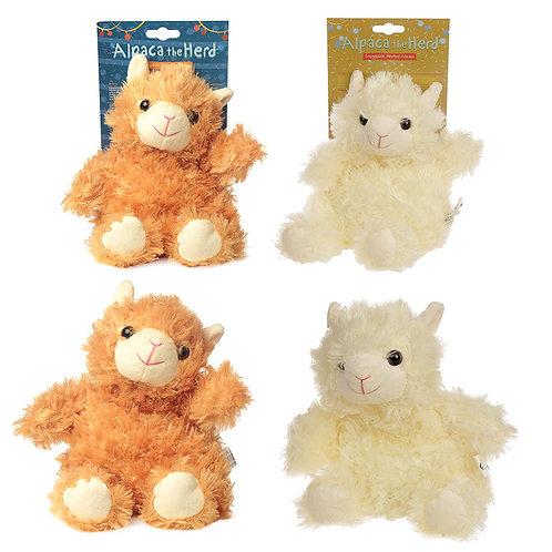 Cute Alpaca Design Snuggables Microwavable Warmer Novelty Gift