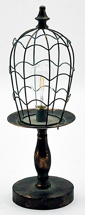 Antique Copper Garden Lamp With Bulb Shipping furniture UK