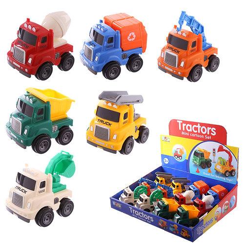 Fun Kids Push Along Novelty Vehicles Toy Novelty Gift [One]