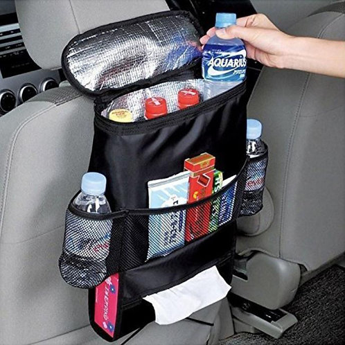 Car Back Seat Organiser with Cool Bag | Home Essentials UK