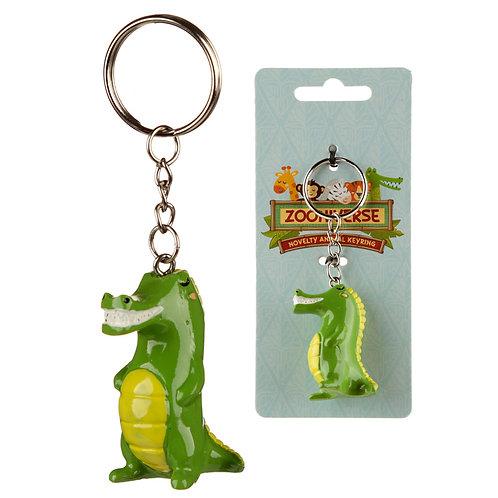 Fun Collectable Crocodile Keyring Novelty Gift