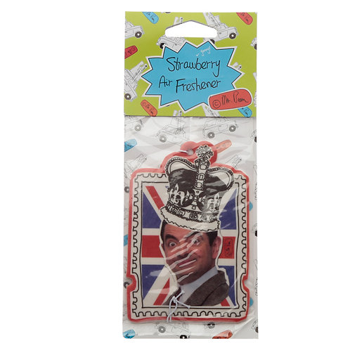 Mr Bean Strawberry Scented Air Freshener Novelty Gift