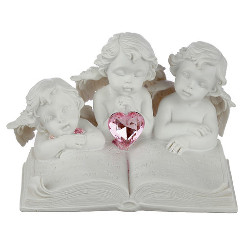 Collectable Peace of Heaven Cherub - Children of the Heart Novelty Gift