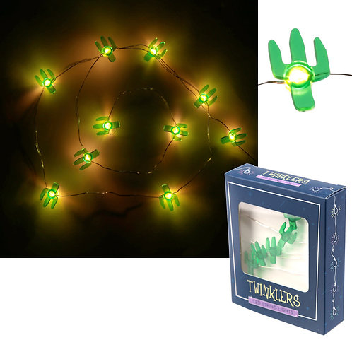Novelty Gift Decorative LED Light - Cactus String (120cm)