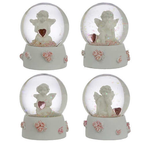 Collectabl Cherub - Sweet Dreams Snow Globe [ONE ONLY] Novelty Gift