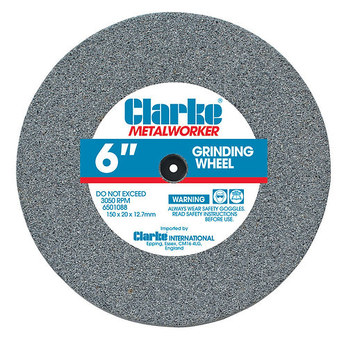 "Clarke 6"" (150mm) Coarse Grinding Wheel 