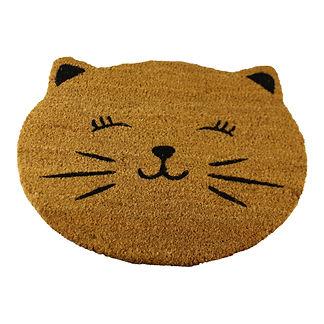 Coir Doormat, Cat Design Shipping furniture UK