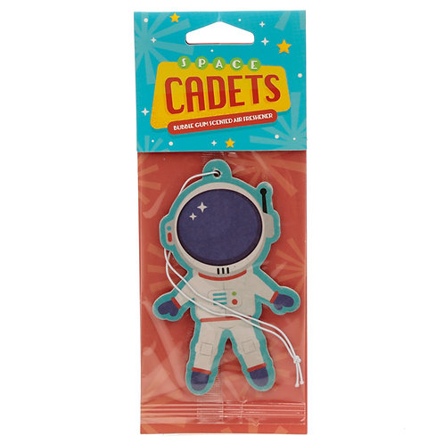 Space Cadet Astronaut Bubble Gum Scented Air freshener [Pack of 2] Novelty Gift