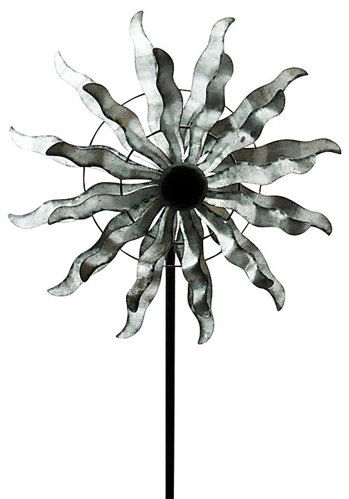 "Double Windmill Garden Spinner 60"" Shipping furniture UK"