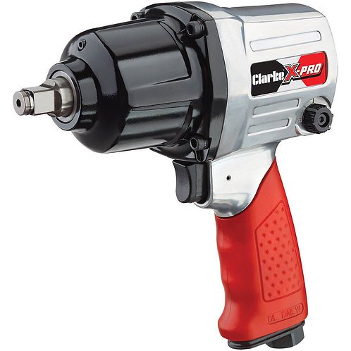 """Clarke X-Pro CAT131 1/2"""" Twin Hammer Air Impact Wrench 