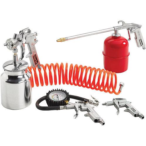 Clarke Kit 1000 - 5 Piece Air Tool Kit   DIY Bargains