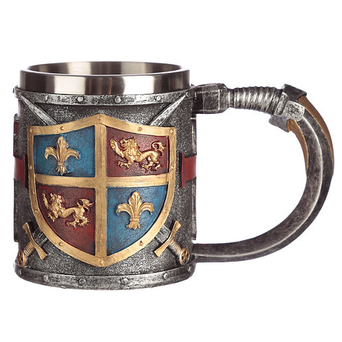 Collectable Decorative Coat of Arms Tankard Novelty Gift