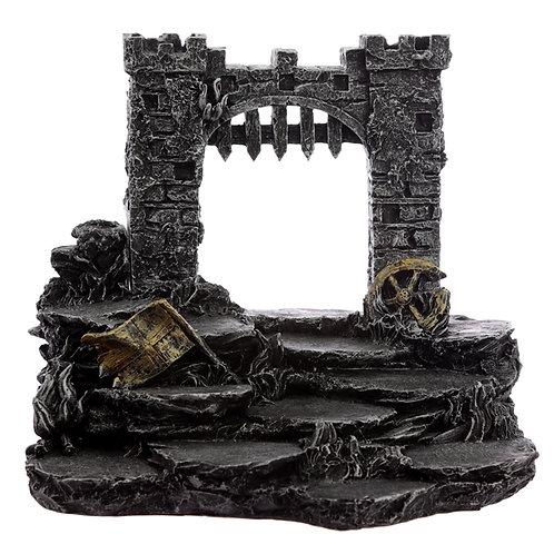 Castle Battleground Knight World Tiered Trinket Display Stand Novelty Gift