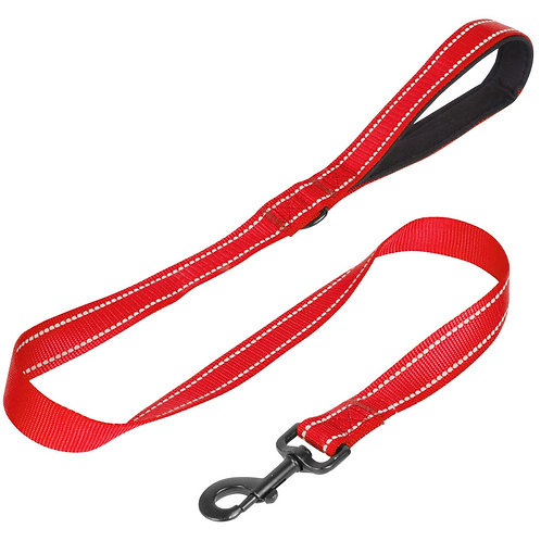 1m Dog Lead - Red | Home Essentials UK