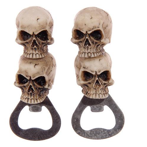 Gruesome Skull Bottle Opener Novelty Gift