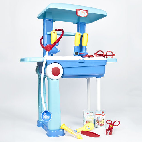 Kids Doctor Toy Trolley Play Set | Home Essentials UK