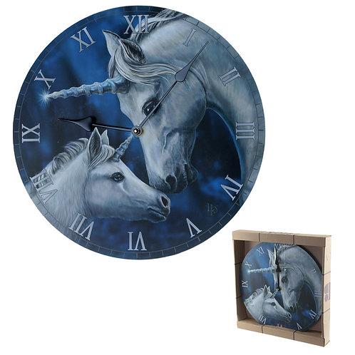 Decorative Fantasy Sacred Love Unicorn Wall Clock Novelty Gift