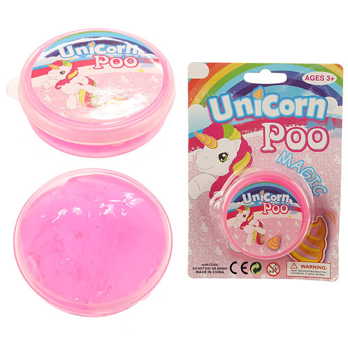 Fun Kids Unicorn Poo Slime Novelty Gift
