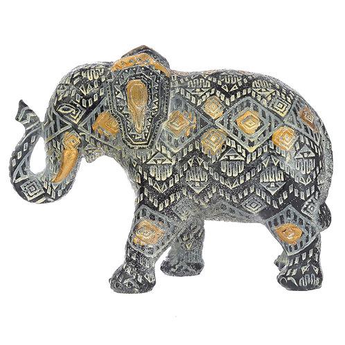 Decorative Thai Geometric Small Elephant Novelty Gift