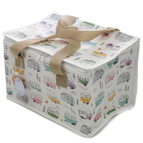 Wildwood Caravan Lunch Box Picnic Cool Bag Novelty Gift