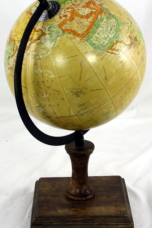 8 Inch Decorative Globe On Wooden Stand Shipping furniture UK