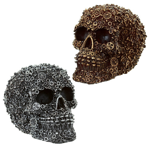 Gothic Collectable Nuts and Bolts Skull Decoration [Pack of 1] Novelty Gift