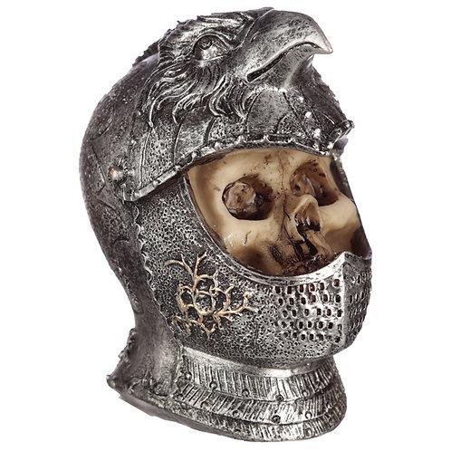 Novelty Gothic Skull in Medieval Bird Helmet Ornament Gift