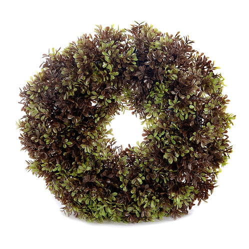 Artificial 40cm Boxwood Wreath Shipping furniture UK