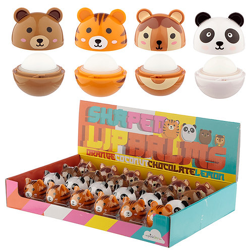 Funky Lip Balm - Cute Animal Designs Novelty Gift