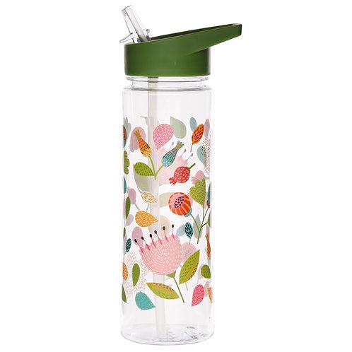 Reusable Floral Autumn Falls 550ml Water Bottle Novelty Gift