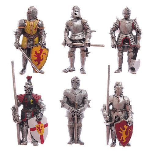Novelty Gift  Medieval Knight Magnets