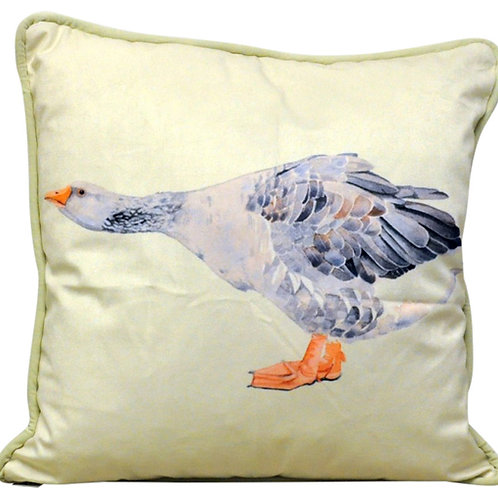 Blue Goose Cushion 45cm Shipping furniture UK
