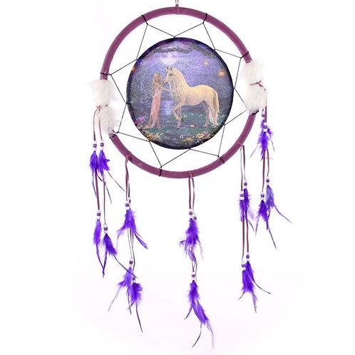Decorative Fantasy Unicorn Garden 34cm Dreamcatcher Novelty Gift
