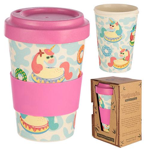 Bamboo Composite Unicorn Travel Mug Novelty Gift
