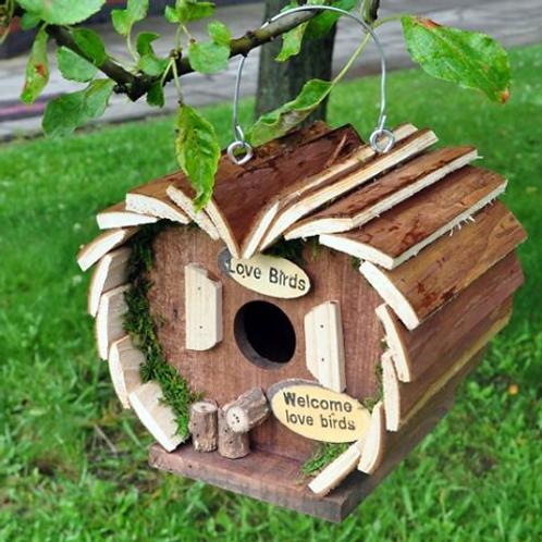 Kingfisher Wooden Bird Hotel   Florist Sundries Supplies and Events UK