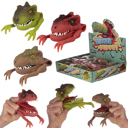 Fun Kids Dinosaur Hand Puppet Novelty Gift