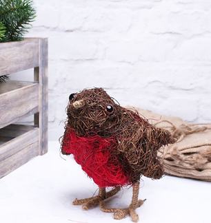 Robin Planter (30cm) | Florist Sundries Supplies and Events UK